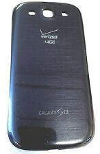 BLUE  <Verizon> Genuine OEM Back Battery Door Cover Samsung Galaxy S3 i535 S III