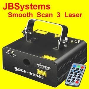 JBSystems Smooth Scan 3 Laser rouge vert - neuf - garantie