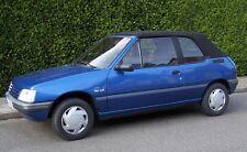 Peugeot Cabrio 205 Cappotta Materiale originale nero Riferimento tettuccio PVC