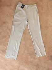 Men's Size 32 Nike Khaki Unhemmed Golf Pants. Nwt