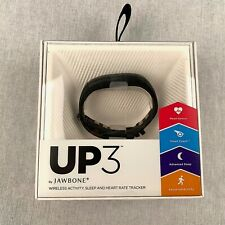 New Jawbone UP3 Activity Monitoring Bracelet Black Tracker Sport Smart Exercise