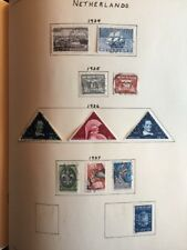 Netherlands Stamp Collection From 1930s
