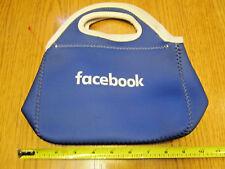 FACEBOOK logo LUNCH COOLER TOTE BRAND NEW NWOT Blue Employee Neoprene Kids Bag