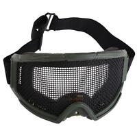 Hunting Airsoft Tactical Eyes Protection Metal Mesh Pinhole Mask Glasses Goggle