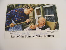 Kathy Staff & Brian Murphy signed Last of the Summer Wine Photo Autograph TV