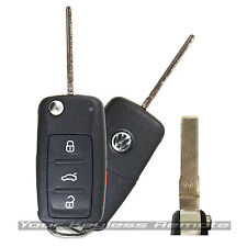 Used Remote Flip Key for Volkswagen 2011-2017 (Select Models with Prox)
