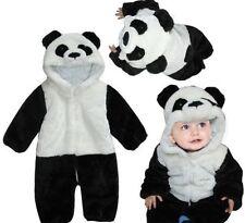 Panda Rompers for Kids Unisex Animal Sleepwear Cosplay Costume Pajama Jumpsuit