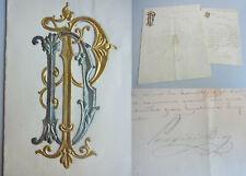 General Porfirio DÍAZ (1830-1915), Präsident Mexiko: 2 signierte Briefe 1892