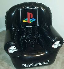 BRAND NEW - PlayStation 2 Super Bowl XXXVII Inflatable Chair 989 NFL GAME DAY