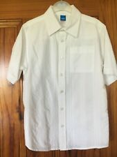 Adams age 8 128cm White Dressy Shirt - 100% Cotton Worn Once in Great Condition