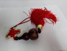 Fu Lu Squash Chinese Kwun Yan Calabash Gourd Hanging Charm