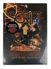 The Script Homecoming Live at The Aviva Stadium Dublin Concert DVD 2011 NEW