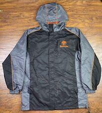 Jagermeister Nylon Windbreaker Jacket Size Small Mesh Lining Liquor H1