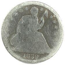 1839-O United States Silver Seated Liberty Half Dime - AG