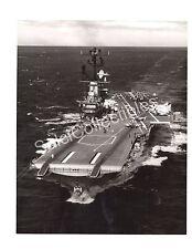 1968 USS Intrepid CV-11 Aircraft Carrier Navy Ship Official Photo 8x10