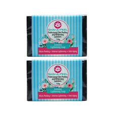 SKIN-A-PEEL Extreme Whitening Soap Bleaching Micro-peeling 150g Lot of 2