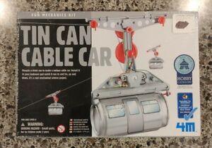 TIN CAN CABLE CAR Fun Mechanics Kit