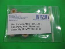 ASI Analytical Scientific Pump Head Piston Seal UHMW -- A500-1009-U-10 -- New