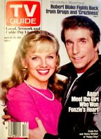 TV Guide 1983 Happy Days The Fonz Henry Winkler Linda Purl Get Smart EX/NM COA