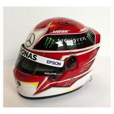 Signed Lewis Hamilton 1/2 Scale 2019 Helmet - Rare Mercedes - F1