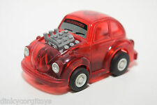 PLASTIC TOMY JAPAN VW VOLKSWAGEN BEETLE KAFER RED EXCELLENT CONDITION.