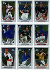 2014 Bowman Chrome Prospect Prospects You Pick the Player Finish Your Set A