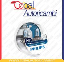 2 LAMPADINE H7 WHITE VISION PHILIPS ALFA ROMEO 147 1.9 JTD 16V KW:103 2002>2010