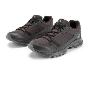 Haglofs Mens Trail Fuse Walking Shoes - Black Sports Outdoors Breathable