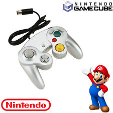 Game Joystick Controller Pad Remote for Nintendo Gamecube GC Wii NGC Silver