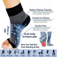 Calmar pies Sock Anti - fatiga Pie de compresión Aliviar el oleaje de tobillo