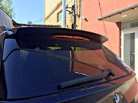 For BMW e61 5 series TOURING aerodynamic SPOILER TAILGATE ROOF Cover Trim