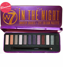 W7 IN THE NIGHT - Smokey Shades Eyeshadow Palette (Nudes/Greys/Darks) NEW!