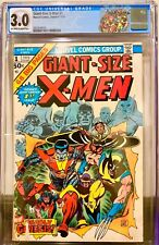 GIANT SIZE X-MEN #1 (CGC 3.0) Marvel Key 1975 1st New Team Off to White Pages