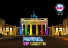 3 -D - Wackelkarte: Berlin - Festival of Lights: Brandenburger Tor