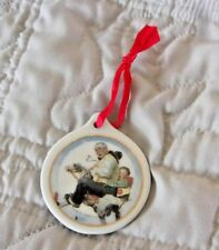 """Jc Penney Norman Rockwell:""""Gramps At The Reins"""" 1997 Christmas Tree Ornament"""