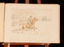 1880 Leaves from a Hunting Journal Georgina Bowers Lithographic Plates 1st Ed