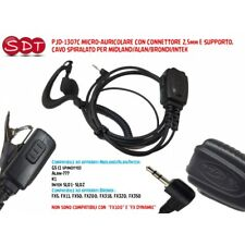 PJD-1307C MICRO-AURICOLARE CON CONNETTORE 2,5mm MIDLAND/ALAN/BRONDI/INTEK