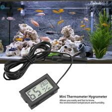 High Quality Digital Lcd Embedded Thermometer Hygrometer Reptile Snake Lizard