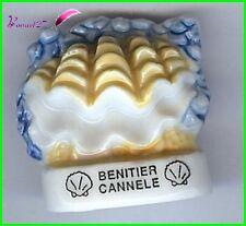 """Feve Les coquillages Shell Schale Edition Atlas """" Le Bénitier Cannele """" #C56"""
