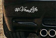 #vanlife Van Vita Divertente Auto Van Paraurti Finestra Adesivo Camper Surf VW Dub Insta