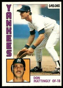 1984 O-Pee-Chee Baseball - Pick A Card - Cards 1-200