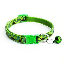 Adjustable Camo Puppy Kitten Dog Cat Pet Bow Tie With Bell Necktie Cute Collar