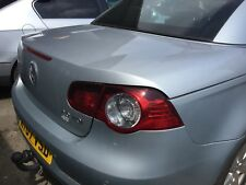 Genuine VW EOS (2007) Bare Boot Lid - Sliver - BREAKING FOR PARTS & SPARES