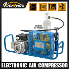 4utohydri 220 V High Pressure Air Compressor 4500psi Pcp Scuba Tank Filling