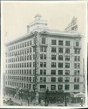 Utah Oil Building Salt Lake City Original News Service Photo