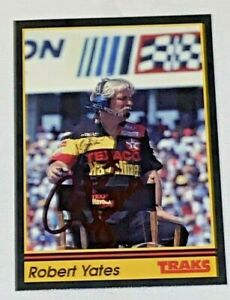 Robert Yates NASCAR HALL OF FAMER DAVEY ALLISON CREW CHIEF #28 autographed card