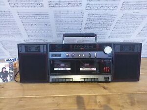 Vintage Ghettoblaster Matsui SX-5140T. Working and looking fantastic!