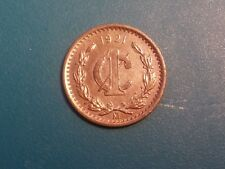 1921 MEXICO ONE CENT .KEY DATE.VERY SCARCE..UNC