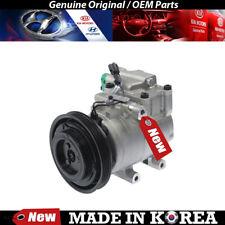 Genuine OEM AC Compressor w/ Clutch for 97-01 Hyundai Elantra/Tiburon,9770127000