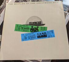 New listing RARE BEATLES VINYL LP LIVE AT HOLLYWOOD BOWL EMTV 4 FIRST YEX 969-1 HTM UNPLAYED